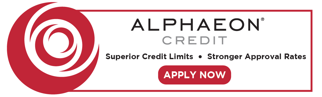 Alphaeon Credit. Superior Credit Limits. Stronger Approval Rates