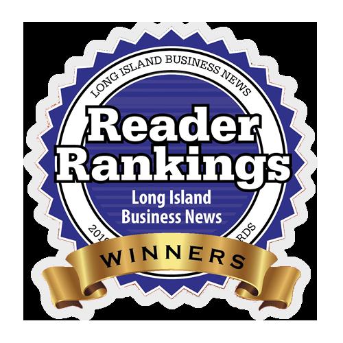 Reader Rankings. Long Island Business News Winners